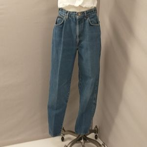 Vintage Chic High Waisted Mom Jeans 100 Cotton s14